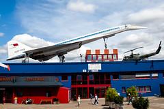 Tupolev Tu-144D (Rami Khanna-Prade) Tags: museum germany de deutschland musee nasa allemagne charger canard cccp tupolev sinsheim tu144 concordski tupolevtu144 cccp77112 aeroflotsovietairlines autotechnikmuseumsinsheim tu144d natocharger canardsurfaces