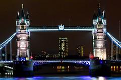 (Matthieu Douhaire) Tags: city travel bridge london tower monument thames night canon town nightshot 7d londres 70200 ville tourisme tamise mgapole canon7d