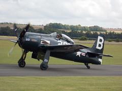 Grumman Bearcat @ Flying Legends 2014 (Andy Reeve-Smith) Tags: duxford cambridgeshire bearcat grumman imperialwarmuseum 2014 iwm flyinglegends f8f thefightercollection
