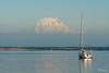 Sailboat and Mount Rainier from Penrose (firemanbrandon72) Tags: park sailboat washington mt state mount rainier sound wa puget penrose