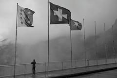 Barrage de la Grande Dixense 1 (gerdvanmechelen) Tags: mountains monochrome clouds de switzerland grande suisse dam banner val barrage gerd vanmechelen dhrens dixense