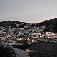 Lindos (Fogscientist) Tags: pictures square lights grecia squareformat rodi lindos picoftheday fogscientist iphoneography instagramapp