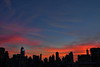 East Side Sunset (Greg - AdventuresofaGoodMan.com) Tags: city nyc newyorkcity sunset sky usa ny newyork skyline buildings skyscrapers manhattan eastside manhatten offices uppereastside newyorksunset