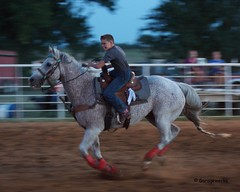 Welch Jr Rodeo, August 2014 (Garagewerks) Tags: boy horse male sport race cowboy all child sony barrel sigma august jr rope rodeo cans f28 welch 70200mm roping 2014 barrelracing views50 views100 views150 slta77v