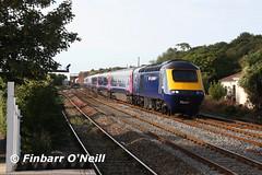 Dawlish Warren (finnyus) Tags: uk greatbritain england english train unitedkingdom rail trains gb british railways britishrail hst 2014 highspeedtrain dawlishwarren class43 intercity125 ic125 raillway finbarroneill 1a77 august2014 englishrail