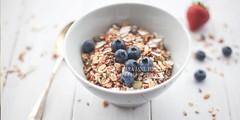 Lara Jane Thorpe la fosse23 (Lara Jane Thorpe) Tags: stilllife food kitchen breakfast studio lifestyle health primroses muesli