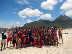 "False Bay Nipper vs Senior Competition Team Photo • <a style=""font-size:0.8em;"" href=""http://www.flickr.com/photos/83071542@N06/14894804149/"" target=""_blank"">View on Flickr</a>"