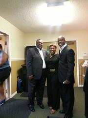 Eddie Sanders, Makayla,  and Kenneth