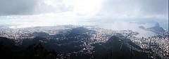 Cloudy Rio de Janeiro (zinvolle) Tags: world brazil art colors beautiful rio statue brasil riodejaneiro cores effects photography arte christ digitalart picture cristoredentor christtheredeemer corcovado copacabana photograph zen harmony sugarloaf estatua flamengo paodeacucar zinvolle