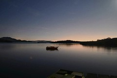 Loch Lomond from luss at night (knoxxxy89) Tags: longexposure night boat nikon yacht loch lochlomond d3200 lusspier