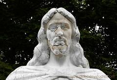 statue closeup (deeindiana) Tags: cemetery graveyard statue religious christ religion jesus christian blessing holy christianity traversecity bless stockphoto jesusstatue traversecityphotographer grandtraversememorialgardenscemetery traversecitystockphotos
