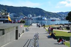 Wellington, le front de mer