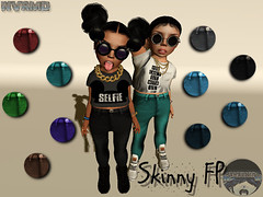 //NVRMD\\ Skinny Jeans (RiffedMisfit) Tags: life secondlife virtual universe toddlee toddleedoo