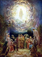 The Gospel of St. Luke 2450-53 - The rise of the Lord into heaven - By Amgad Ellia 13 (Amgad Ellia) Tags: st by heaven luke lord 24 rise gospel amgad ellia the 5053
