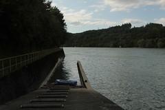 Einstieg - Einwasserungsstelle ber Kahnrampe am linken Rheinufer beim K.raftwerk Ryburg - Schwrstadt in den Rhein ( Hochrhein - EinstiegRyburg  - EinwasserungsstelleRyburg ) im Kanton Aargau in der Schweiz (chrchr_75) Tags: chriguhurnibluemailch christoph hurni schweiz suisse switzerland svizzera suissa swiss chrchr chrchr75 chrigu chriguhurni 1408 august 2014 hurni140819 august2014 rhein rhin reno rijn rhenus rhine rin strom europa albumrhein fluss river joki rivire fiume  rivier rzeka rio flod ro