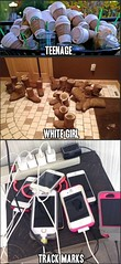 White Girls Track Marks (yaadoo) Tags: funnypics whitegirls