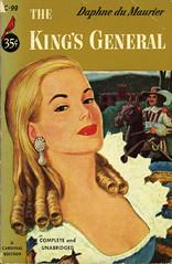Cardinal Books C-99 - Daphne du Maurier - The King's General (swallace99) Tags: vintage cardinal romance paperback swashbuckling suspense