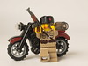 What patrol without vodka? (hey_mamba) Tags: bike soldier photo nice war lego russia awesome picture sniper vodka minifig custom russian patrol beautifull motobike minifigures brickarms
