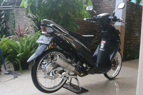 referensi modifikasi mio sporty black