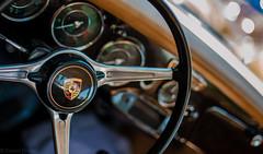 Porsche (Silhouette Labs) Tags: show classic car wheel vw volkswagen logo ed 50mm nikon colorado steering stuttgart fort cluster 14 porsche carroll dashboard nikkor audi collins information gauge dials 2014 rado d700