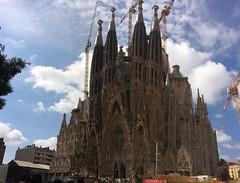 Sagrada Familia, Barcelona. (Aidurne) Tags: barcelona city church awesome sagradafamilia gaudì