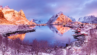 Earth Smiled II | Reine, Lofoten, Norway