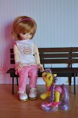 Pixie (-gigina-) Tags: pink cute doll candy sweet pixie bjd leeke yosd