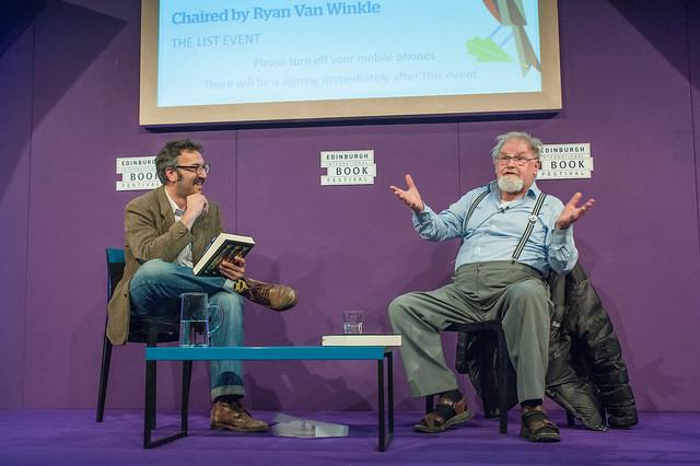 Ryan van Winkle in conversation with Alasdair Gray