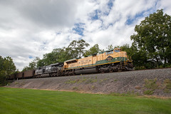 Norfolk Southern 781 (T-3 Photography) Tags: railroad heritage train canon pennsylvania ns rail wideangle trains pa locomotive 1740mm railfan norfolksouthern readingrailroad 5dmarkii easternrailroads