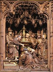 Retable de Saint-Denis (gillesfrancotte) Tags: church saint belgium septembre eglise denis liège 2014 saintdenis altarpiece tgnoz2u