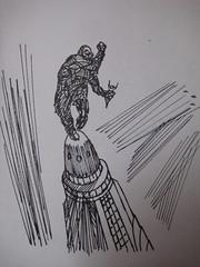 King Kong Picture Book Interior 4 (Donald Deveau) Tags: illustration kingkong empirestatebuilding monstermovie fantasyfilm
