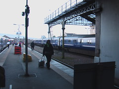 Inverness Arrivals (Rhydgaled) Tags: station first railway scotrail inverness sleeper caledonian mark3
