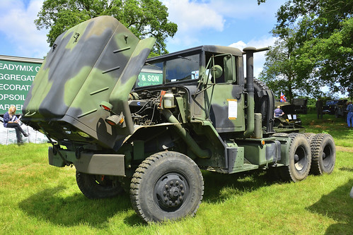 Woolpit Steam Rally, Military Vehicles