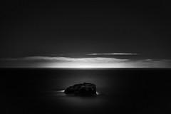 Seal Rock (StefanB) Tags: ocean california longexposure sea bw santacruz seascape water monochrome rock coast pacific outdoor geotag sealrock 2014 em5 1235mm
