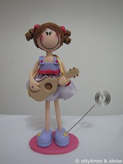 Boneca Porta Recado (onyarteseideias@terra.com.br) Tags: porta boneca recado