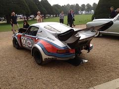 1974 Porsche 911 RSR 2.14 Turbo (mangopulp2008) Tags: uk court 1974 911 turbo porsche hampton sept concourse elegance 2014 214 rsr uploaded:by=flickrmobile flickriosapp:filter=nofilter