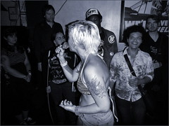 Bikini Carwash (The All-Nite Images) Tags: show music brooklyn punk live williamsburg bikinicarwash queerpunk ottoyamamoto theeyesofnewyork grandvictory theallniteimages