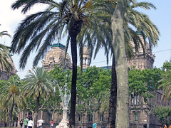 Trees in Barcelona Spain (soniaadammurray - ON/OFF) Tags: barcelona city travel trees nature buildings spain digitalphotography