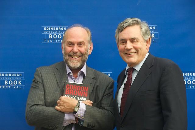 Alistair Moffa and Gordon Brown