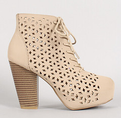 "nubuck-perforated-lace-up-platform-ankle-bootie-nude • <a style=""font-size:0.8em;"" href=""http://www.flickr.com/photos/64360322@N06/15282369505/"" target=""_blank"">View on Flickr</a>"