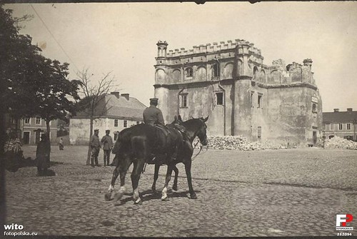 Rynek Wielki, czas I wojny światowej (fotopolska.eu)