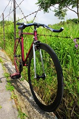 TAIWAN FIRST FIXEDGEAR SHOP OZOTW X OZOTW PL24 COMPLETE BIKE X 2014 OZOTW PLUME2 FRAME IN RAW/PURPLE (OZOTW) Tags: green bicycle shop 50mm cycling aluminum asia track raw meetup taiwan gear fork tire cap ag frame singlespeed fixed taichung fixie fixedgear gt carbon custom velodrome slope pursuit mash sanmarco skid lug ozo 2014 aff1 aff2 aff3 chainlock bottombracket 4130 cinelli 700c madeintaiwan 2013 6066 steelbike chromoly 46t completebike kingheadset tricktrack carbonrim bullhornbar barspinable ozotw srams80 wwwozotwcom 4130steel slopeframeset tpuvelcrotoestrap eurobottombracket 40mmdeeprim affframeset ospoke