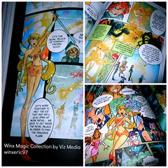 Winx Club Magic Collection Art Sample (winxeric97) Tags: club media comic magic collection viz winx