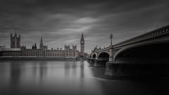 Ghosting The Thames (Jarrad.) Tags: longexposure london thames nikon housesofparliament bigben architectural thamesriver westminsterbridge photoworkshop houseofcommons nd110 d700 nd106 jaymarksimages