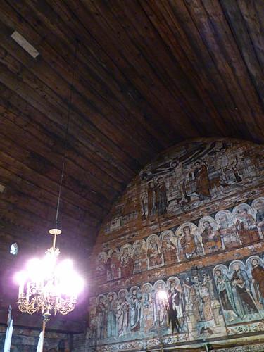Budesti - church, Biserica de lemn Sfântul Nicolae.,