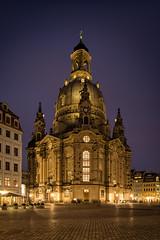 Frauenkirche Dresden (mad_airbrush) Tags: 5d eos5d 5dmarkiii 1740mm ef1740mmf4l l dresden frauenkirche old dresdnerfrauenkirche landscape night nightshot longexposure light sachsen saxony church kirche