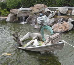 Pirates Cove. (goldiesguy) Tags: goldiesguy water statue statues sculpture sculptures outdoors