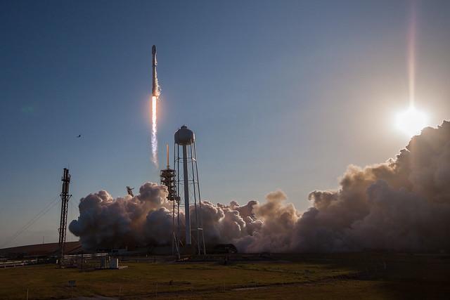 SES-10 Launch - world's first reflight of an orbital class rocket