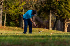 Looking for the Wicket (vastateparksstaff) Tags: smithmountainlakestatepark wicket croquet play people park outdoor grass tree recreation ball