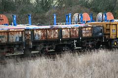 112000 Hoo Junction 170217 (Dan86401) Tags: 112000 112 oca ocan bass dropsideopen wagon br fishkind fourwheeled freight ews db dbcargo engineers departmental infrastructure civilengineer hoojunction